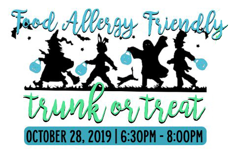 2019 FOOD ALLERGY FRIENDLY TRUNK OR TREAT